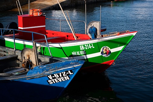 Viana do Castelo Due to the dangers of the sea all fishermen have a strong belief, devotion and faith and it is usual to give their vessels religious names and ornaments.  Jorge Nuno Cruz